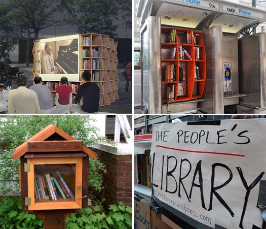 Little Libraries In The Urban Margins