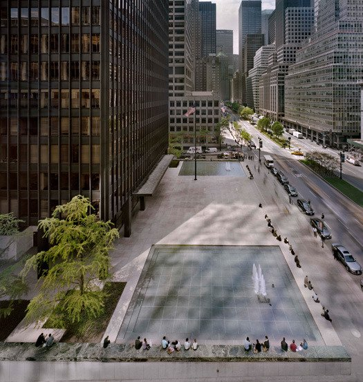 Seagram: Union of Building and Landscape