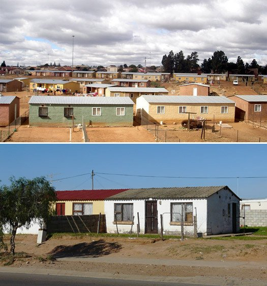 RDP houses South Africa