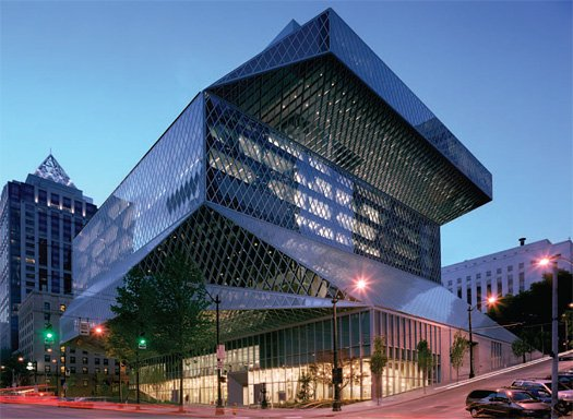 Seattle central library civic architecture in the age of for Top architects in usa
