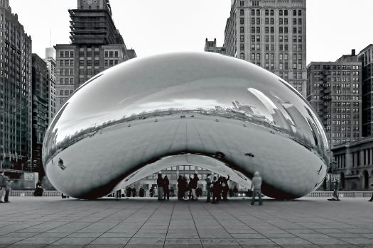 Cloudgate by Anish Kapoor.