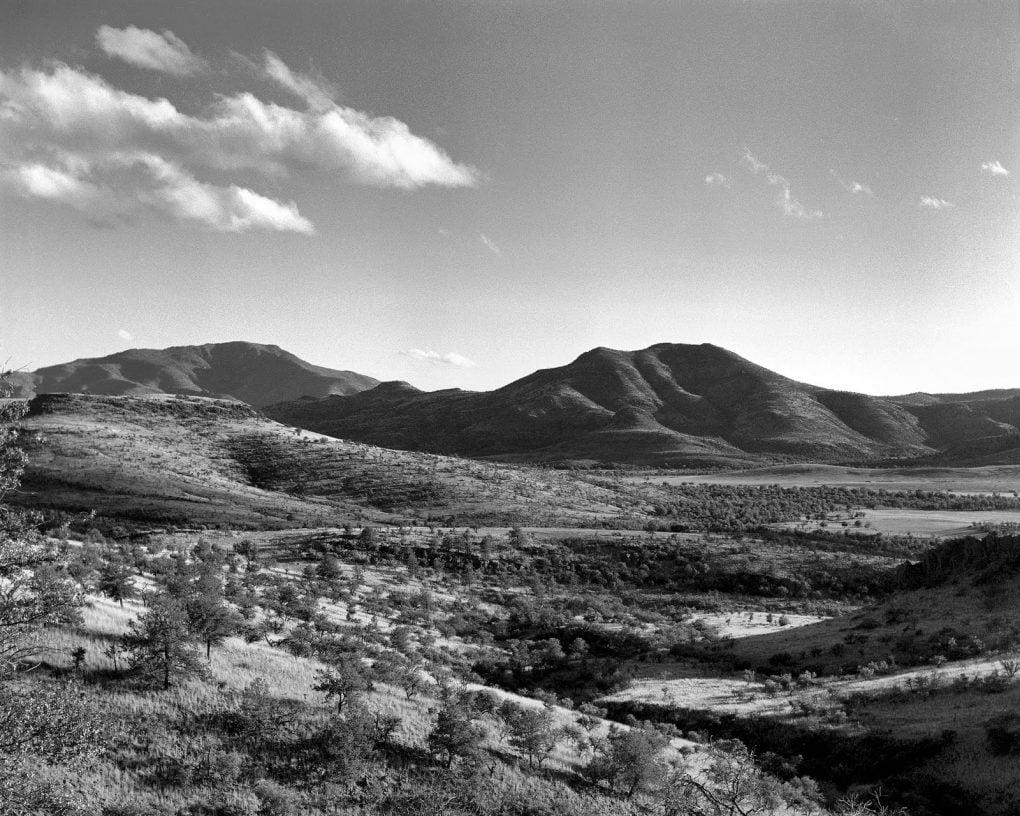 The Davis Mountains, near Kent, Texas, 1961.