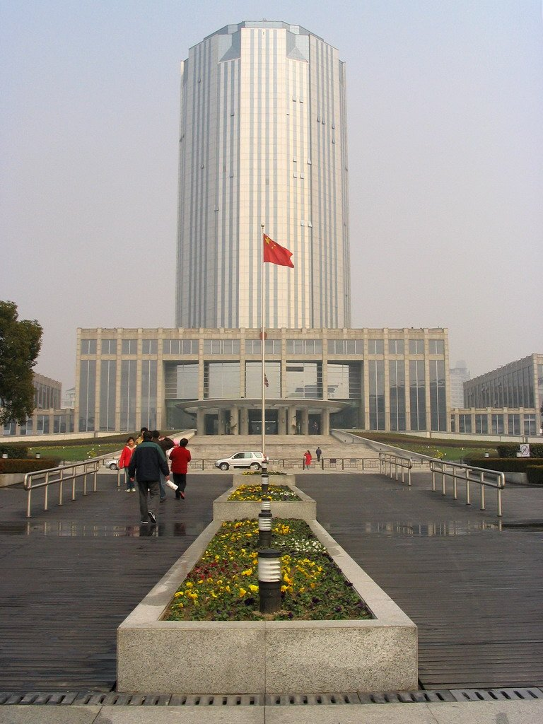 Pudong New Area Government Building.