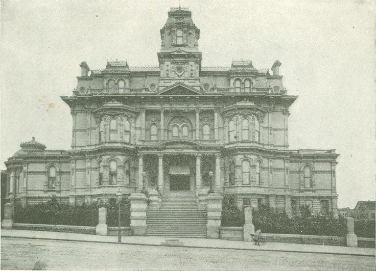 Charles Crocker House, San Francisco, ca. 1885.