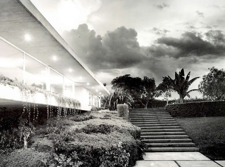 Francisco Artigas, Enrique Rojas House, Gardens of El Pedregal, Mexico City, 1962.