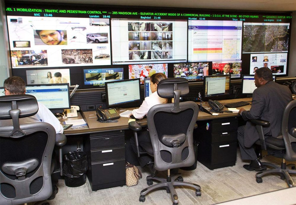 NYPD Real Time Crime Center