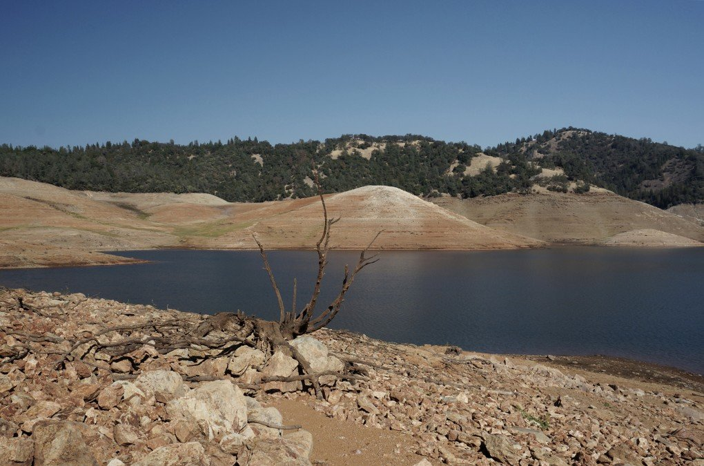 Lake Oroville photographed by Katherine Jenkins.