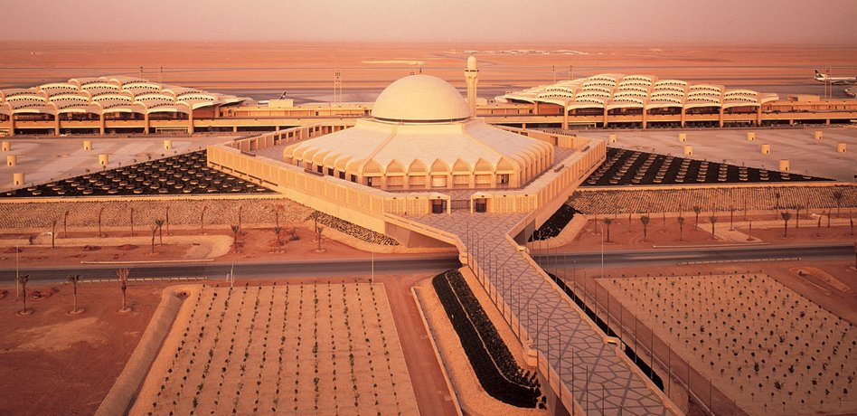 King Khalid International Airport, Riyadh.