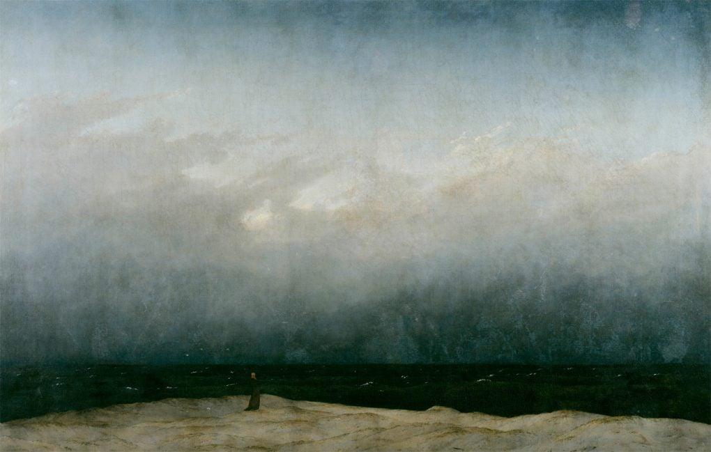 Caspar David Friedrich, The Monk by the Sea