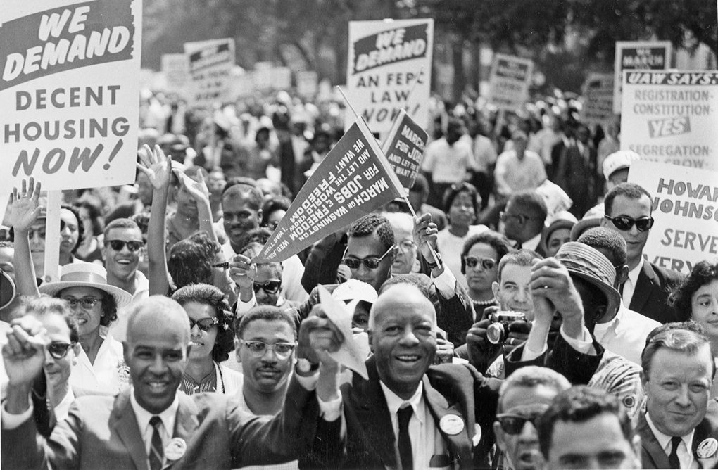 March on Washington, 1963.