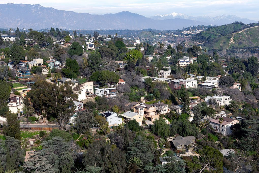 Mount Washington neighborhood, in the San Rafael Hills, Los Angeles