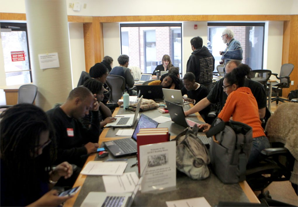 BlackLivesMatter Wikipedia Edit-a-Thon at the NYPL Schomburg Center for Research in Black Culture