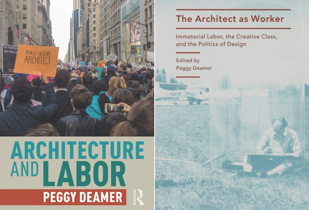 Architecture and Labor was published earlier this year, The Architect as Worker in 2015.